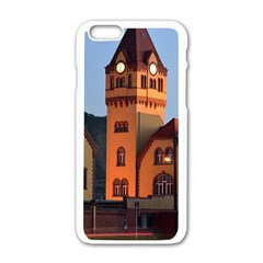 Blue Hour Colliery House Apple Iphone 6/6s White Enamel Case