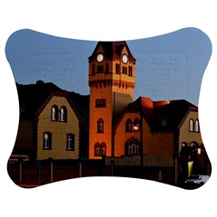 Blue Hour Colliery House Jigsaw Puzzle Photo Stand (bow)