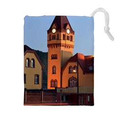 Blue Hour Colliery House Drawstring Pouches (extra Large)