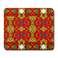 Abstract Background Pattern Doodle Large Mousepads