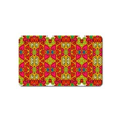Abstract Background Pattern Doodle Magnet (name Card)