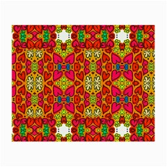 Abstract Background Pattern Doodle Small Glasses Cloth