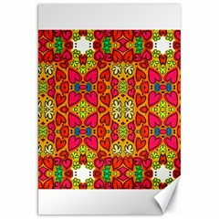 Abstract Background Pattern Doodle Canvas 20  X 30