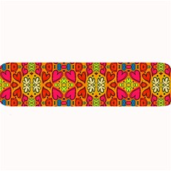 Abstract Background Pattern Doodle Large Bar Mats