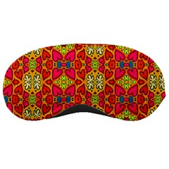 Abstract Background Pattern Doodle Sleeping Masks