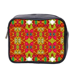Abstract Background Pattern Doodle Mini Toiletries Bag 2 Side