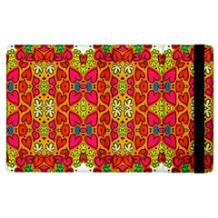 Abstract Background Pattern Doodle Apple Ipad 3/4 Flip Case