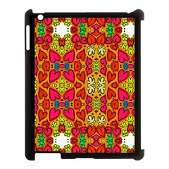 Abstract Background Pattern Doodle Apple Ipad 3/4 Case (black)