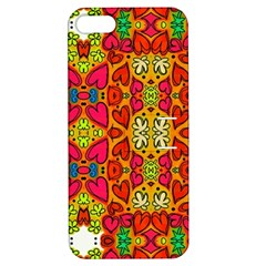 Abstract Background Pattern Doodle Apple Iphone 5 Hardshell Case With Stand