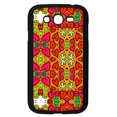 Abstract Background Pattern Doodle Samsung Galaxy Grand Duos I9082 Case (black)