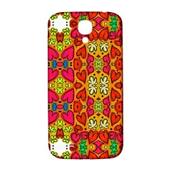 Abstract Background Pattern Doodle Samsung Galaxy S4 I9500/i9505  Hardshell Back Case