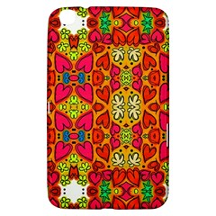 Abstract Background Pattern Doodle Samsung Galaxy Tab 3 (8 ) T3100 Hardshell Case
