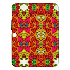 Abstract Background Pattern Doodle Samsung Galaxy Tab 3 (10 1 ) P5200 Hardshell Case