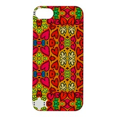 Abstract Background Pattern Doodle Apple Iphone 5s/ Se Hardshell Case