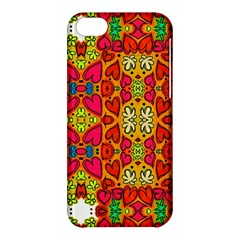 Abstract Background Pattern Doodle Apple Iphone 5c Hardshell Case