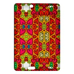 Abstract Background Pattern Doodle Amazon Kindle Fire Hd (2013) Hardshell Case