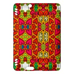 Abstract Background Pattern Doodle Kindle Fire Hdx Hardshell Case