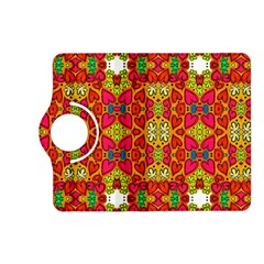 Abstract Background Pattern Doodle Kindle Fire Hd (2013) Flip 360 Case