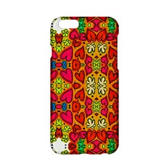 Abstract Background Pattern Doodle Apple Iphone 6/6s Hardshell Case
