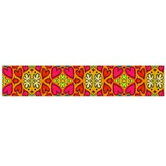 Abstract Background Pattern Doodle Large Flano Scarf