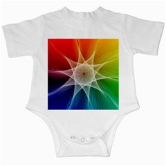 Abstract Star Pattern Structure Infant Creepers