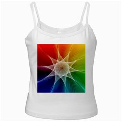 Abstract Star Pattern Structure Ladies Camisoles