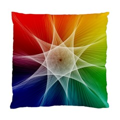 Abstract Star Pattern Structure Standard Cushion Case (two Sides)