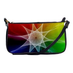 Abstract Star Pattern Structure Shoulder Clutch Bags