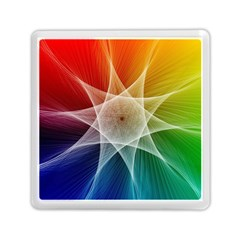 Abstract Star Pattern Structure Memory Card Reader (square)