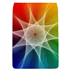 Abstract Star Pattern Structure Flap Covers (s)