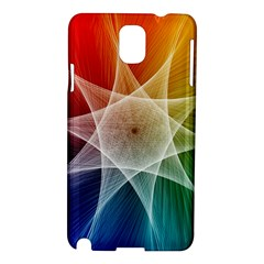 Abstract Star Pattern Structure Samsung Galaxy Note 3 N9005 Hardshell Case
