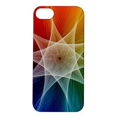 Abstract Star Pattern Structure Apple Iphone 5s/ Se Hardshell Case