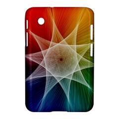 Abstract Star Pattern Structure Samsung Galaxy Tab 2 (7 ) P3100 Hardshell Case