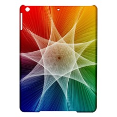 Abstract Star Pattern Structure Ipad Air Hardshell Cases
