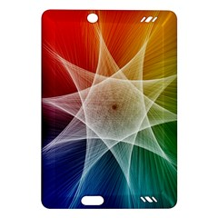 Abstract Star Pattern Structure Amazon Kindle Fire Hd (2013) Hardshell Case