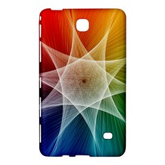 Abstract Star Pattern Structure Samsung Galaxy Tab 4 (7 ) Hardshell Case