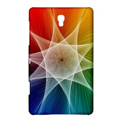 Abstract Star Pattern Structure Samsung Galaxy Tab S (8 4 ) Hardshell Case
