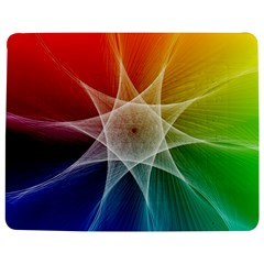 Abstract Star Pattern Structure Jigsaw Puzzle Photo Stand (rectangular)