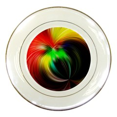 Circle Lines Wave Star Abstract Porcelain Plates