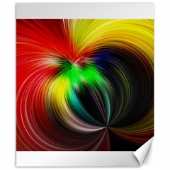 Circle Lines Wave Star Abstract Canvas 8  X 10
