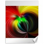 Circle Lines Wave Star Abstract Canvas 12  x 16   16 x12 Canvas - 1