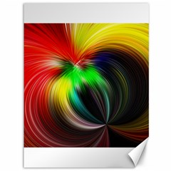 Circle Lines Wave Star Abstract Canvas 36  X 48