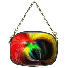 Circle Lines Wave Star Abstract Chain Purses (two Sides)