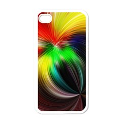Circle Lines Wave Star Abstract Apple Iphone 4 Case (white)