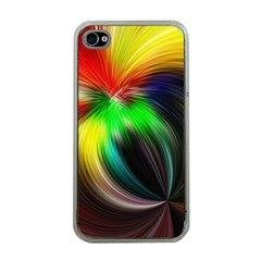 Circle Lines Wave Star Abstract Apple Iphone 4 Case (clear)