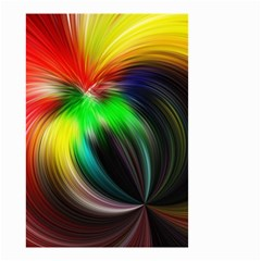 Circle Lines Wave Star Abstract Small Garden Flag (two Sides)