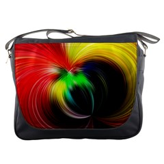 Circle Lines Wave Star Abstract Messenger Bags