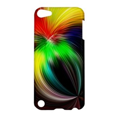 Circle Lines Wave Star Abstract Apple Ipod Touch 5 Hardshell Case