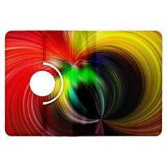 Circle Lines Wave Star Abstract Kindle Fire Hdx Flip 360 Case