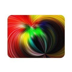 Circle Lines Wave Star Abstract Double Sided Flano Blanket (mini)